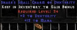 12 Mana w/ 2 Dex SC