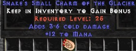 12 Mana w/ 3-6 Cold Damage SC
