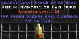 12 Mana w/ 50 Poison Damage LC