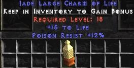 12 Resist Poison w/ 15 Life LC