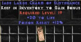 12 Resist Poison w/ 20 Life LC