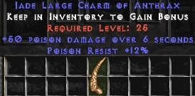 12 Resist Poison w/ 50 Poison Damage LC