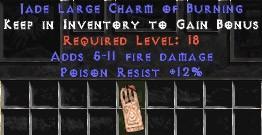 12 Resist Poison w/ 5-11 Fire Damage LC