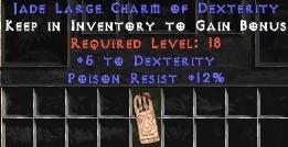 12 Resist Poison w/ 5 Dex LC