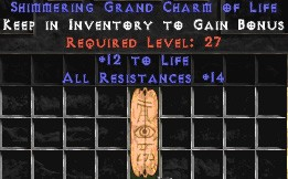 12-14 Resist All w/ 10-19 Life GC