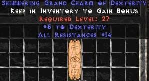 12-14 Resist All w/ 4-5 Dex GC