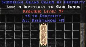 12-14 Resist All w/ 6 Dex GC
