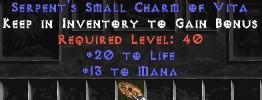 13-16 Mana w/ 20 Life SC