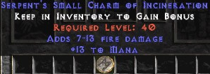 13-16 Mana w/ 7-13 Fire Damage SC