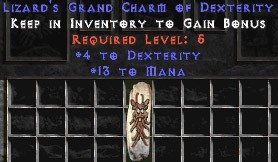 13 Mana w/ 4 Dex GC