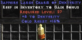 15 Resist Cold w/ 5 Dex LC
