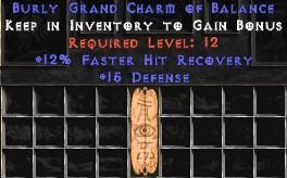 15 Defense w/ 12% FHR GC