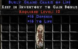 15 Defense w/ 15 Life GC