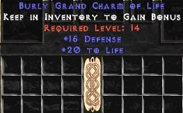 15 Defense w/ 20 Life GC