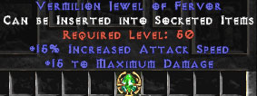 15 Max Damage & 15% IAS Jewel