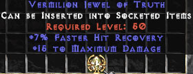 15 Max Damage & 7% FHR Jewel