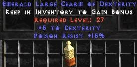 15 Resist Poison w/ 5 Dex LC