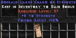 15 Resist Poison w/ 5 Str LC