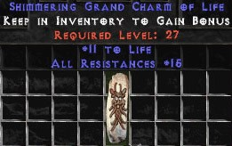 15 Resist All w/ 10-19 Life GC