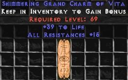 15 Resist All w/ 30-39 Life GC