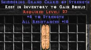 15 Resist All w/ 4-5 Str GC