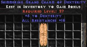15 Resist All w/ 6 Dex GC
