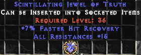 15 Resist All & 7% FHR Jewel