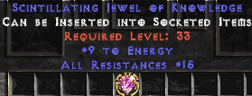 15 Resist All & 9 Energy Jewel