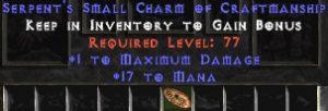 17 Mana w/ 1 Max Damage SC - Perfect