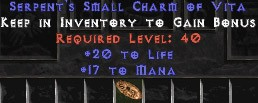 5 x Pack - 17 Mana w/ 20 Life SC - Perfect