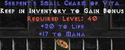 10 x Pack - 17 Mana w/ 20 Life SC - Perfect