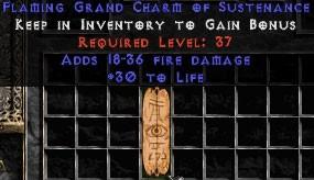 18-36 Fire Damage w/ 30 Life GC