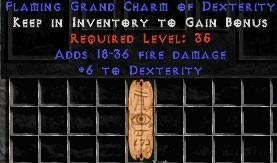 18-36 Fire Damage w/ 6 Dex GC