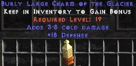 18 Defense w/ 3-8 Cold Damage LC