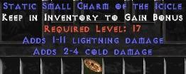 1-11 Lightning Damage w/ 2-4 Cold Damage SC