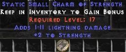 1-11 Lightning Damage w/ 2 Str SC