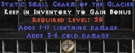 1-11 Lightning Damage w/ 3-6 Cold Damage SC