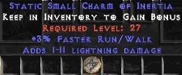 1-11 Lightning Damage w/ 3% FRW SC