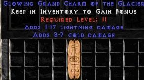 1-17 Lightning Damage w/ 3-7 Cold Damage GC