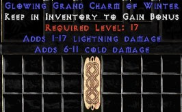 1-17 Lightning Damage w/ 6-11 Cold Damage GC