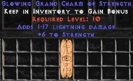 1-17 Lightning Damage w/ 6 Str GC