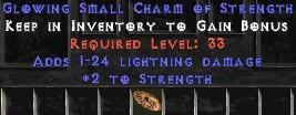 1-24 Lightning Damage w/ 2 Str SC