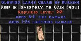 1-26 Lightning Damage w/ 5-11 Fire Damage LC