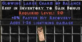 1-26 Lightning Damage w/ 8% FHR LC