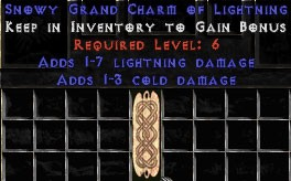 1-3 Cold Damage w/ 1-7 Lightning Damage GC