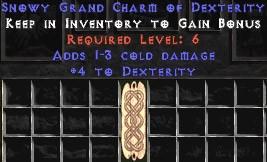 1-3 Cold Damage w/ 4 Dex GC