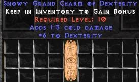 1-3 Cold Damage w/ 6 Dex GC