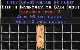 1-3 Fire Damage w/ 1-2 Cold Damage GC