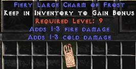 1-3 Fire Damage w/ 1-3 Cold Damage LC