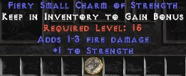 1-3 Fire Damage w/ 15 Life SC